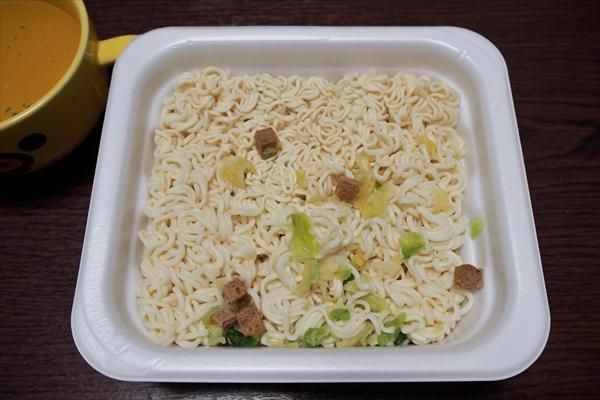 水で作った麺