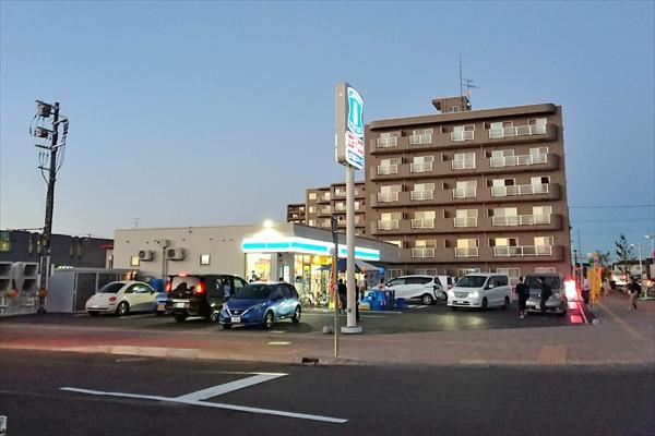 ローソン野幌駅南口店オープン当日