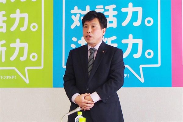 堀直人市議・市長選挙の所信表明演説