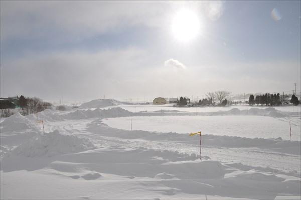 雪上ドリフトコース