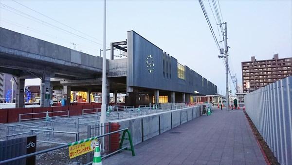 JR野幌駅・南口