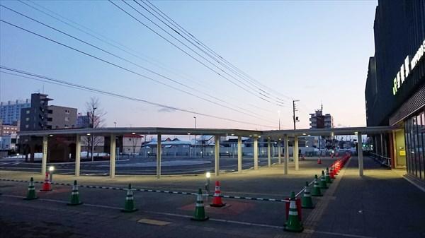 旧鉄東線・ロータリー
