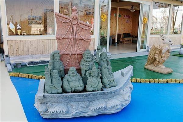 七福神の石像