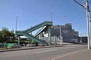 江別駅・跨線橋(自由通路)