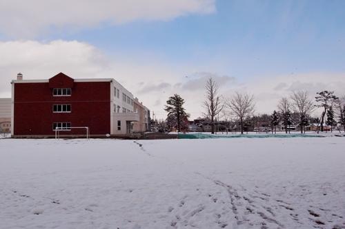 東野幌小学校グラウンド