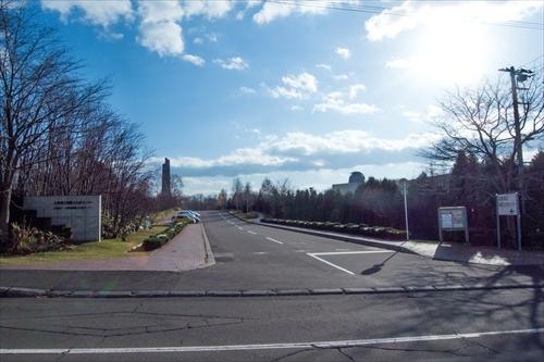 北海道埋蔵文化財センター入口