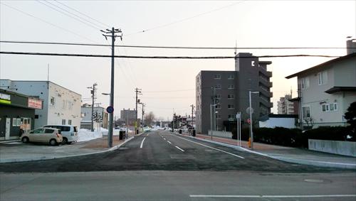 野幌駅南通