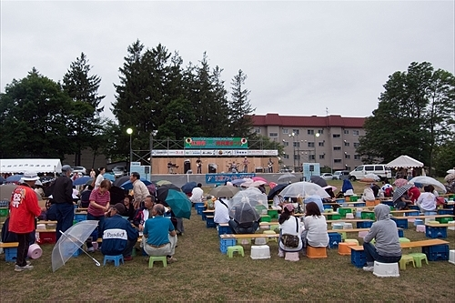 市民夏祭り会場