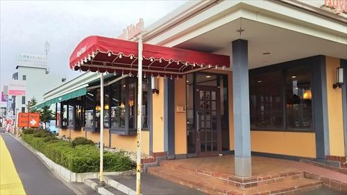 ロイヤルホスト江別店・出入口