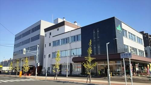 JA道央とJR野幌駅前ビル