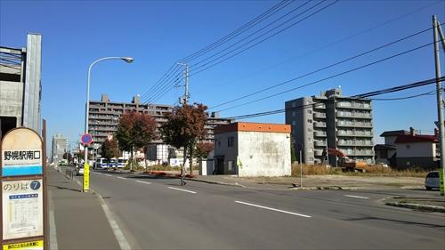 野幌駅南口駅前バス停