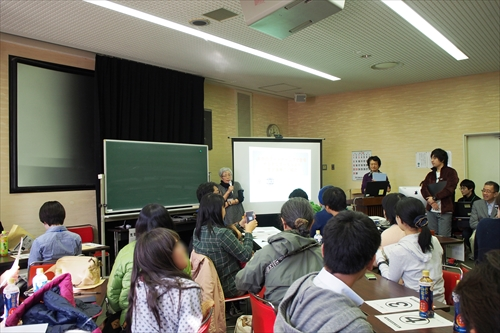 江別市野幌周辺案内の講義
