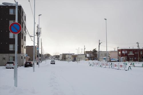 野幌駅南通と8丁目通り