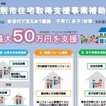 江別市住宅取得支援事業補助金