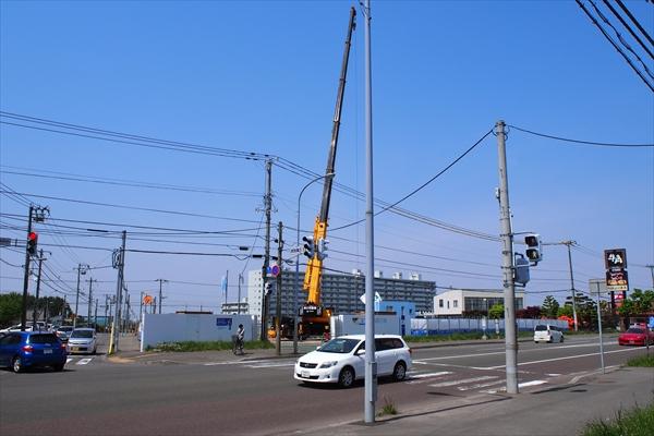 旧セカンドストリート厚別店跡地