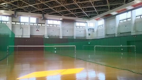 体育室・バトミントン
