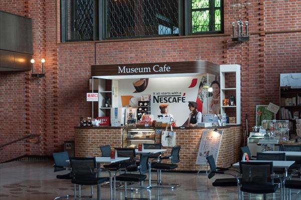 フロントのカフェ