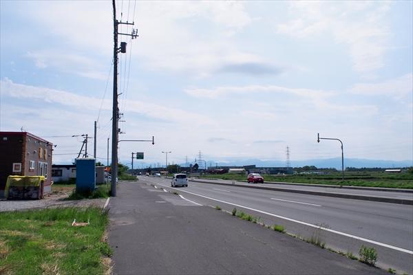 インター線(道道110号線)