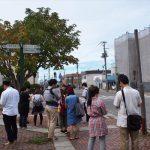 ポケモンGOをプレイしながら江別市内を散策