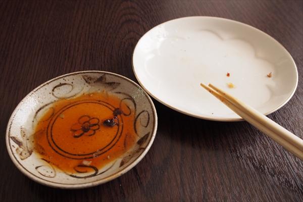 山岡家の餃子・完食