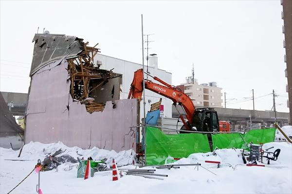 kokomoca旧店舗ビル取り壊し