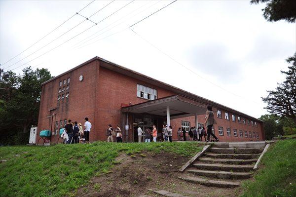 江別小学校レンガ造り校舎