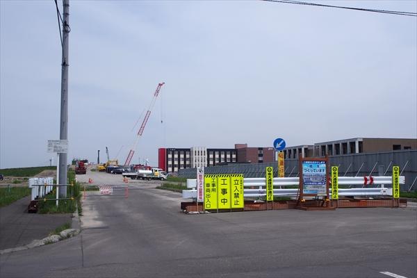 3・3・304南大通交付金上部架設工事看板
