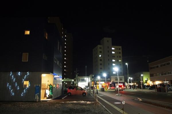 野幌駅前商店街ライトアップ
