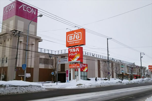 イオンタウン江別店(ザ・ビッグ江別店)