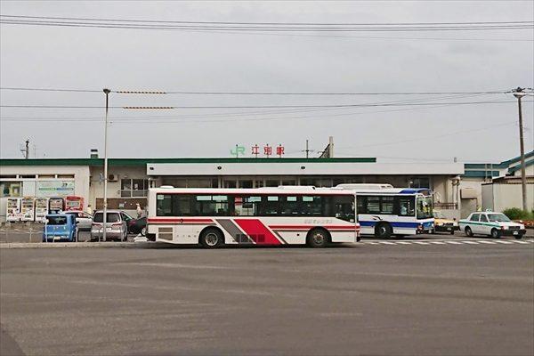 江別駅前バス停が2020年4月にロータリー外へ移設予定![JR北海道バス ...