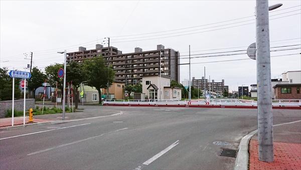 野幌駅南通と1号線