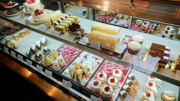 ケーキ各種類