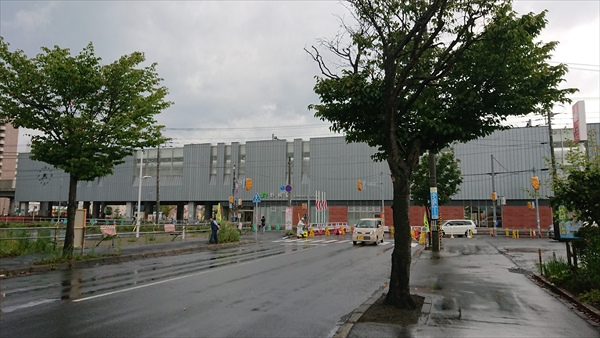 函館本線・野幌駅