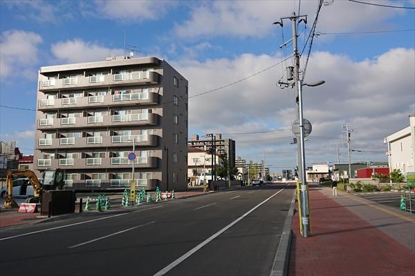 野幌駅南口バス停移設先(野幌駅南通)