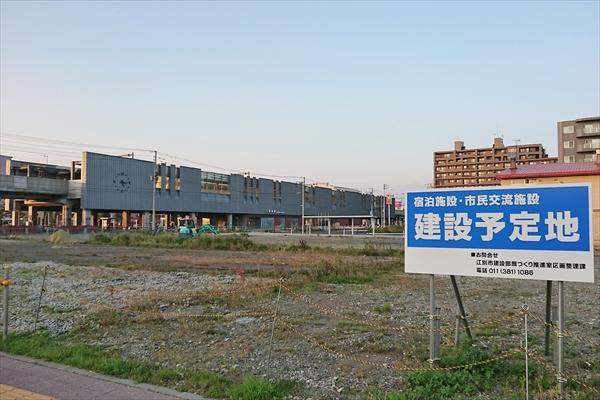野幌駅南口駅前再開発地