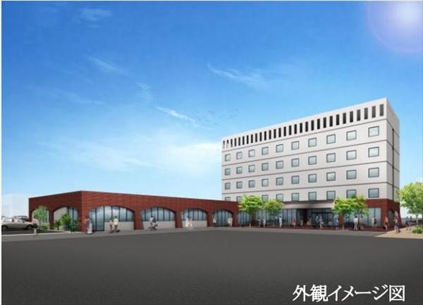 ホテル・交流センター外観イメージ