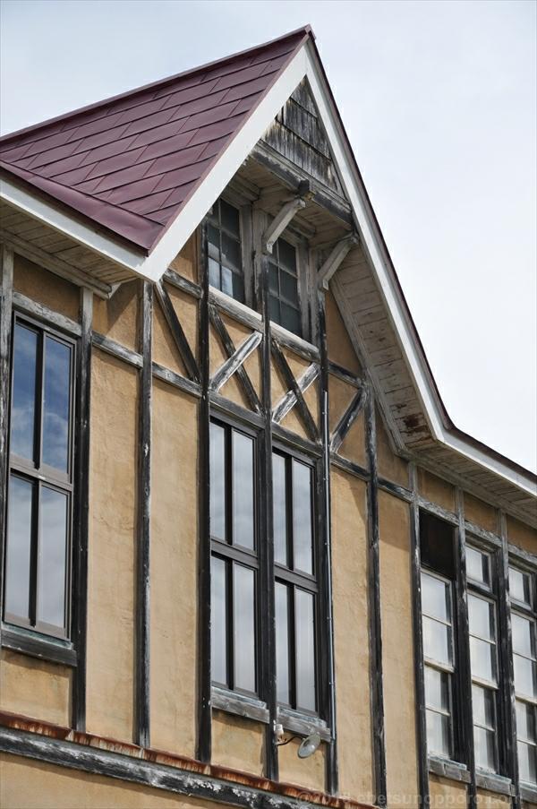 北海道林木育種場旧庁舎・西側上部