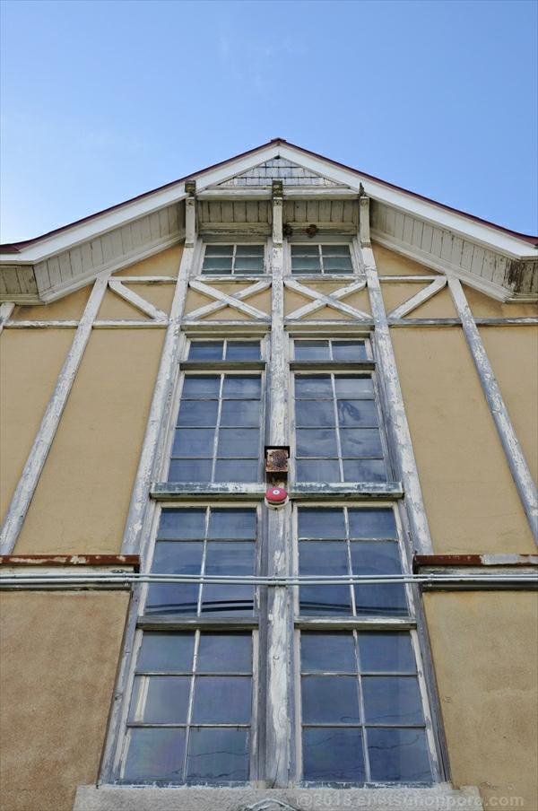 北海道林木育種場旧庁舎・東側上部