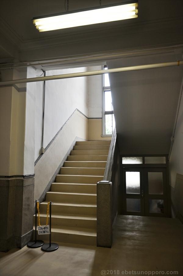 林木育種場旧庁舎内部・階段