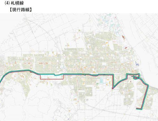 札幌線(再編前)