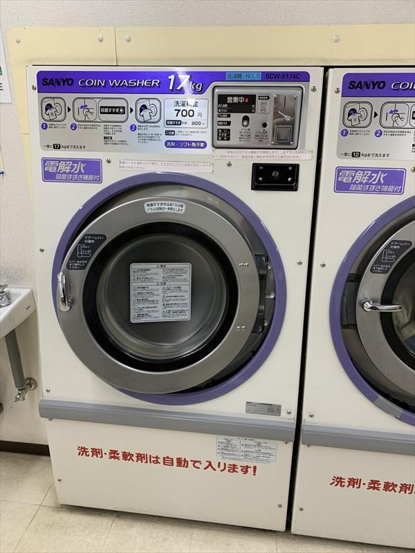 17キロ洗濯機