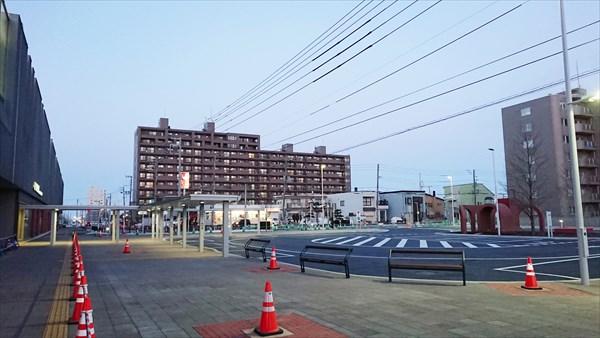野幌駅南口駅前ロータリー