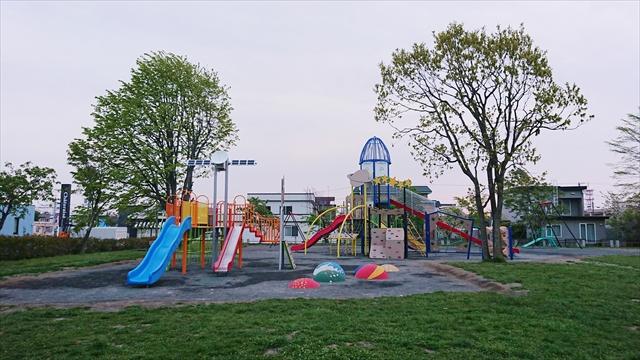 元江別公園(江別市元町)