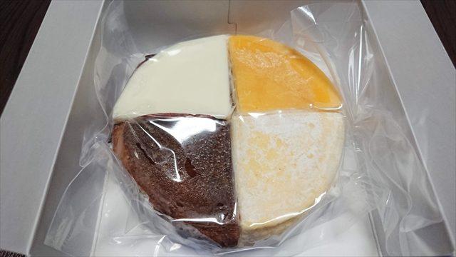 4種のアソートチーズケーキ真空パック