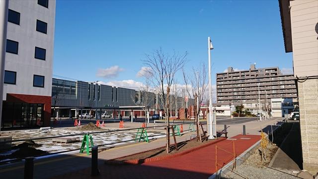 野幌駅南口ロータリー