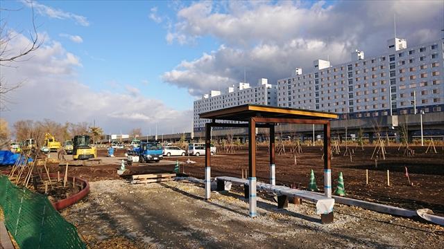 野幌地区都市緑地整備公園・東屋
