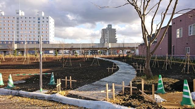 野幌地区都市緑地整備公園・散策路