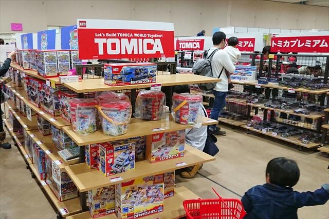 トミカ売り場