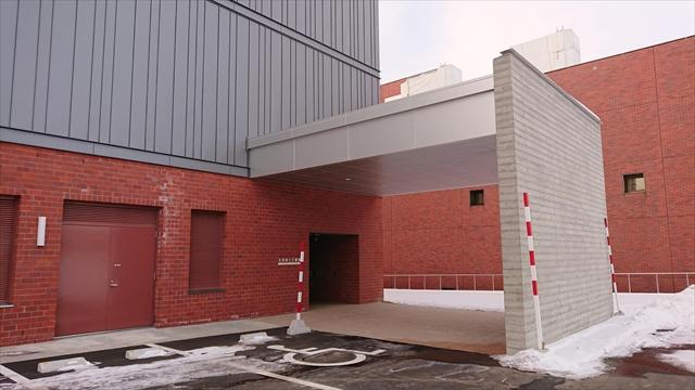 北海道立文書館エントランス
