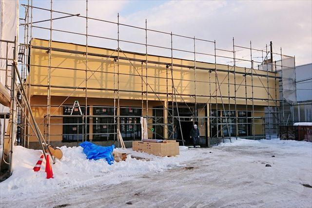新店舗の建物